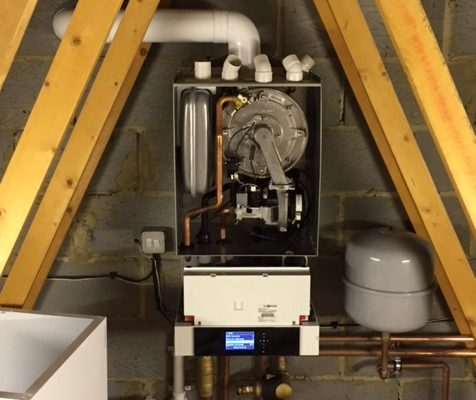 Viessmann Boiler in a house in Winchester