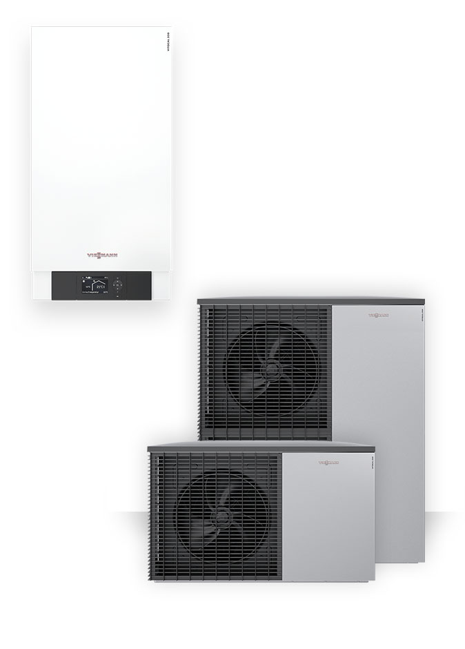 Air Source Heat Pumps Viessmann Vitocall 200